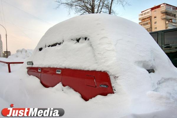 За выходные с улиц Екатеринбурга вывезено более 15 тысяч тонн снега