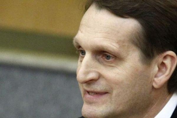 Нарышкин предложил ЕС ввести санкции против Киева