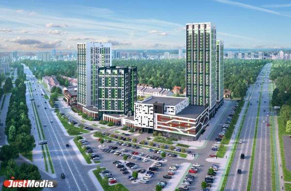 Высотный квартал на Московской с большим фитнесом и семиэтажным паркингом планируют построить за 2,5 года