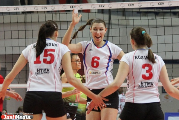 В Екатеринбург приехали лидеры женской волейбольной Лиги чемпионов