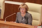 Будущий президент из Камышлова поздравил Бабушкину с юбилеем и пожелал, чтобы депутаты ее слушались