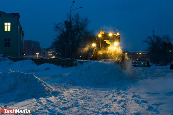 Коммунальщики: Куйвашев подписал Екатеринбургу снежный приговор