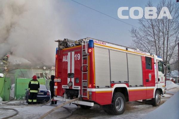 На улице Народного Фронта при пожаре в частном доме погибла пожилая женщина