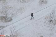 В Екатеринбурге ко вторнику «потеплеет» до минус четырех и снова пойдет снег