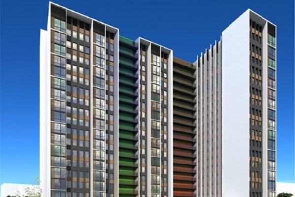 На Данилы Зверева вырастет 18-этажный дом бизнес-класса, соединенный специальным навесом с остановкой