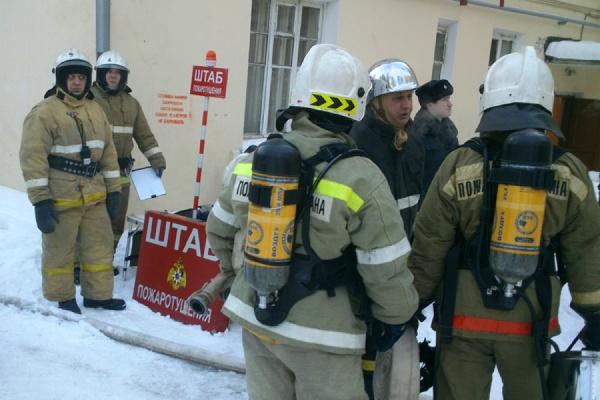 Пожар в жилом доме на улице Нагорной локализован
