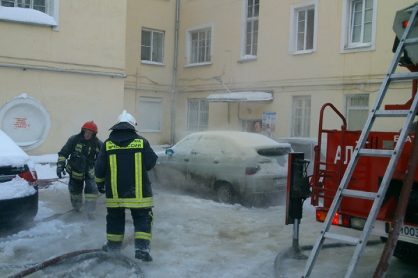 Пожар в жилом доме на улице Нагорной ликвидирован