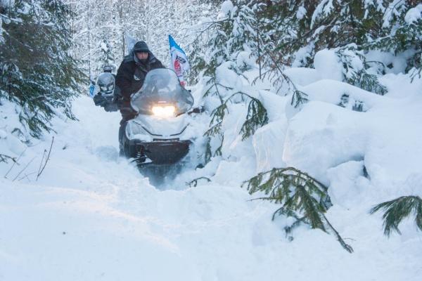 1300 километров по непроходимым тропам. Завершился первый этап экспедиции на снегоходах от Екатеринбурга до Северного Ледовитого океана