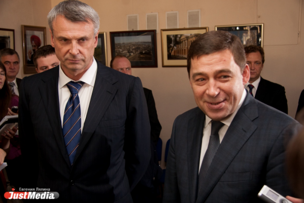 Пиарщики Куйвашева рассказали о встрече губернатора с Носовым, которой на самом деле не было