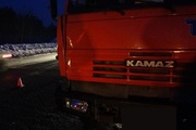 На Тюменском тракте под колесами КАМАЗа погиб пешеход