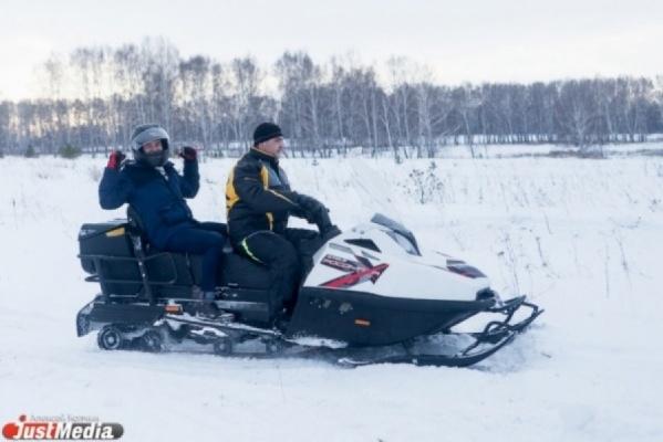 Уральцы смогут протестировать снегоход «Ермак»