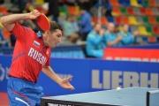 Григорий Власов стал серебряным призером чемпионата России по настольному теннису