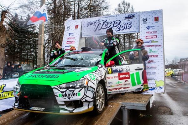 Гонщики из PROSPEED-URALASBEST стали лучшими на ралли «Пено-2016»