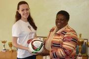 Мяч «Волонтеров Урала» соберет пожелания представителей стран-хозяек чемпионатов мира по футболу