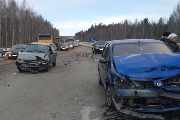 Загляделись на аварию. На Пермском тракте произошло сразу три ДТП с разницей в несколько минут