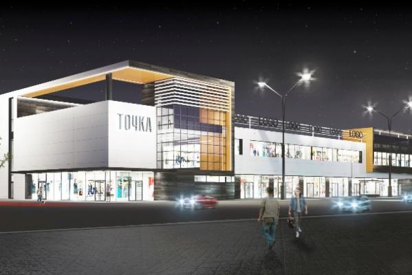 На площади Первой Пятилетки хотят построить торговый центр с выставочником и парковкой на крыше