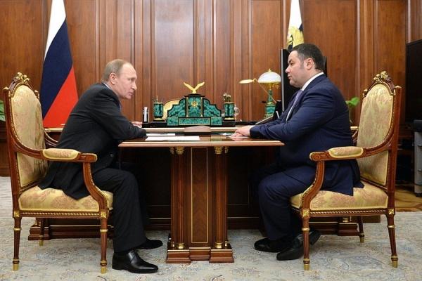 Сезон отставок губернаторов продолжается. Путин поменял исполнительную власть в Тверской области