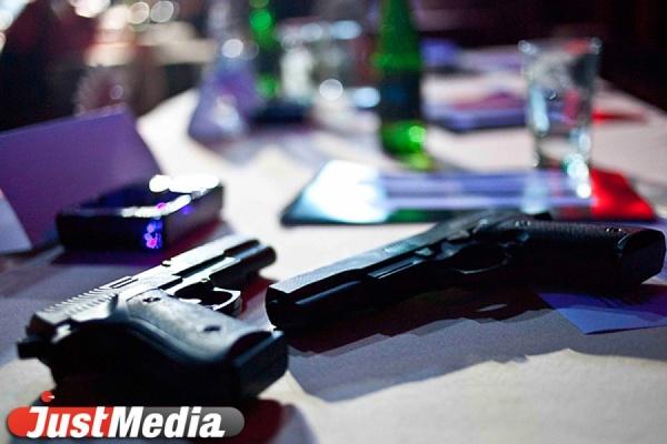 У екатеринбуржцев изъяли 39 незаконно хранившихся единиц оружия и боеприпасов