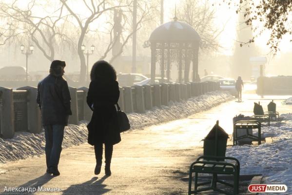 К пятнице в Екатеринбурге потеплеет до плюс двух