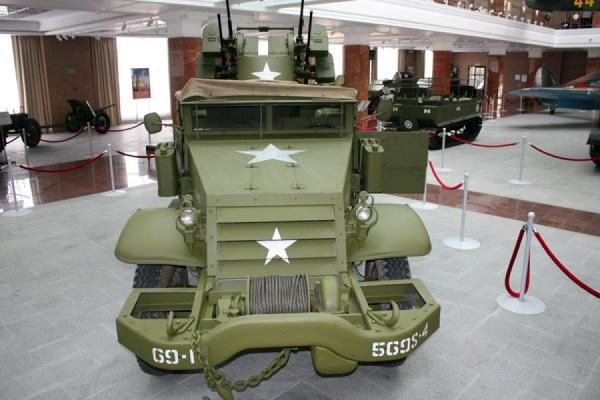 Американская военная техника времен Великой Отечественной войны прибыла в Верхнюю Пышму