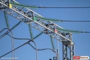 Микрорайон Компрессорный из-за аварии остался без электричества