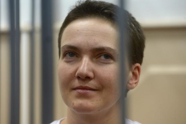 Надежда Савченко прекратила сухую голодовку