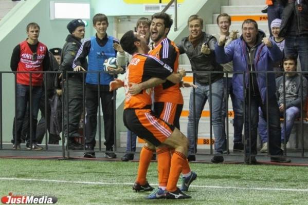 «Урал» одержал фееричную победу над «Анжи» в матче 20-го тура чемпионата России