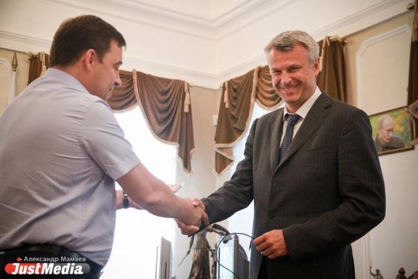 Носов поздравил Куйвашева открыткой, перепутав его имя