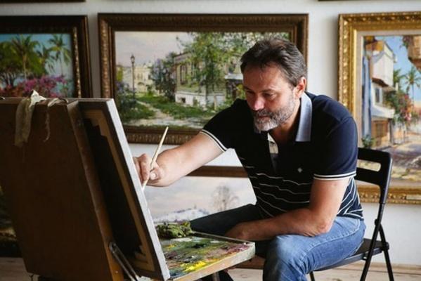 Известный художник Алексей Ефремов представит публике свои новые картины из «китайской» серии