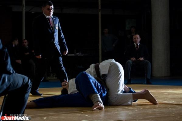 В Екатеринбурге сойдутся на татами самые юные дзюдоисты