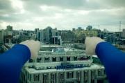 Супермен пролетел над Екатеринбургом