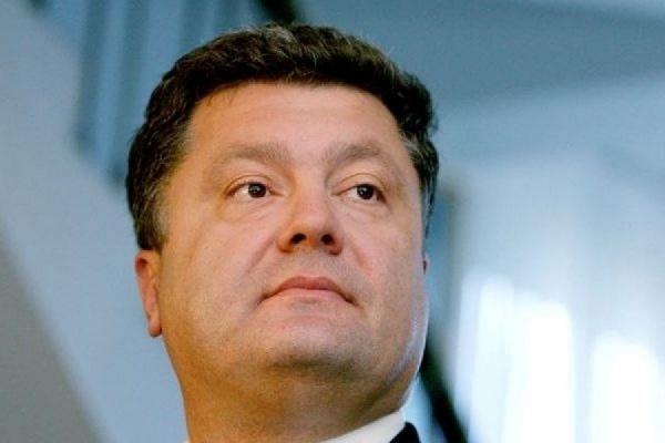 Петр Порошенко выдал оружие сборной Украины по футболу
