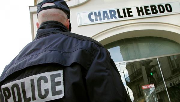 Журнал Charlie Hebdo опубликовал карикатуру на теракты в Брюсселе