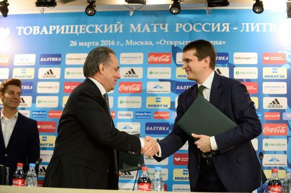 Компания «МегаФон» стала генеральным спонсором российского футбола