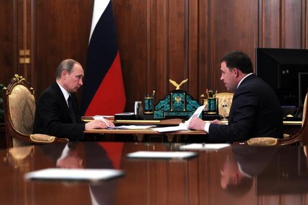 Герои «фотошопа» Куйвашев и Сечин предстали перед Путиным
