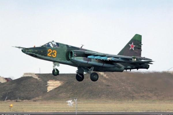 В Приморье разбился штурмовик Су-25