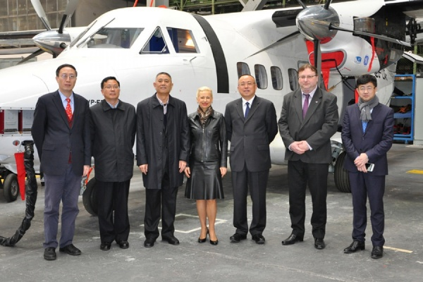Авиазавод УГМК Aircraft Industries поставит в Китай 20 самолетов L-410