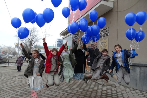 Завтра центр Екатеринбурга станет синим