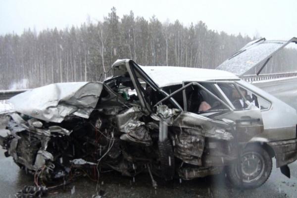 В ДТП на ЕКАДе один человек погиб, двое получили травмы