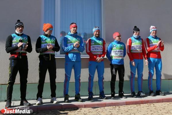 В коттеджном поселке Лебедево состоялась третья «Спринтерская эстафета с героями Олимпиад»