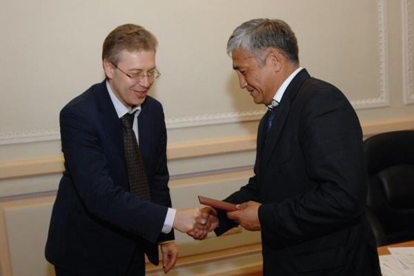Сагынбек Абдрахманов стал полномочным представителем УрФУ в Кыргызской Республике