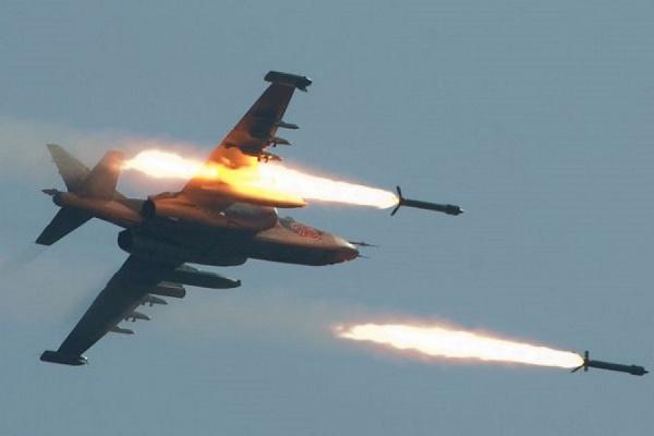 Сирийский самолет сбит над территорией исламистов