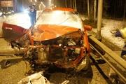 Под Нижним Тагилом в лобовом столкновении иномарок погиб человек. ФОТО