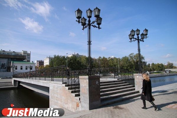 Днем плюс 16 градусов! Всю неделю в Екатеринбурге тепло и солнечно