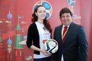 Бразильский профессор принял участие в эстафете мяча «Волонтеров Урала»
