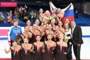 Екатеринбургские фигуристки в составе сборной стали чемпионами мира