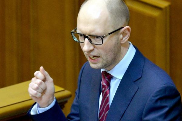 В Раду внесен проект постановления об отставке Яценюка