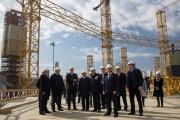 Игорь Левитин проинспектировал стройку на Центральном стадионе