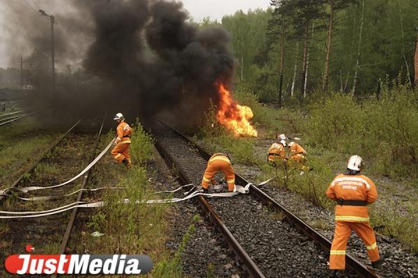 Первые лесные пожары зарегистрированы на Среднем Урале
