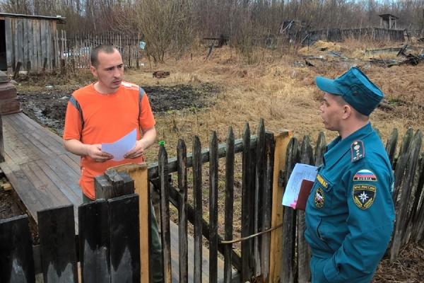 Вода угрожает поселку Черноярскому в Серове